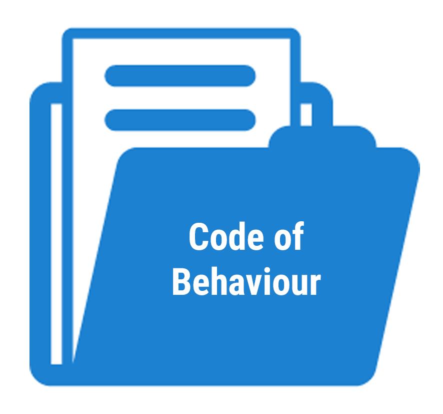 Code of Behaviour for trustees, staff, and volunteers