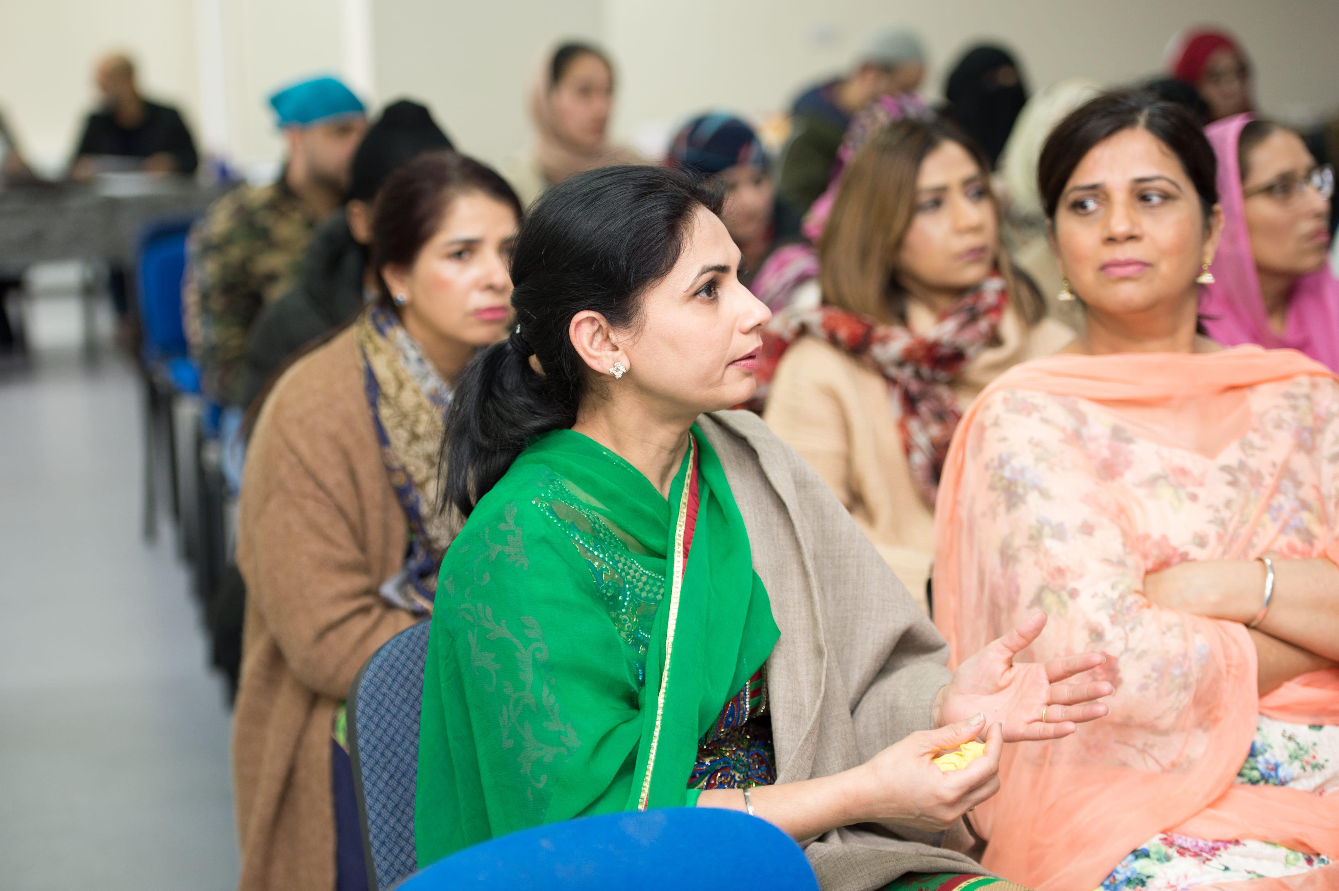 Safeguarding Conference in Guru Gobind Singh Gurdwara, Bradford